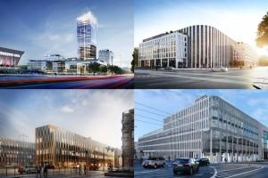 Biurowe perły regionów. TOP 10 nowych projektów biurowych w Polsce