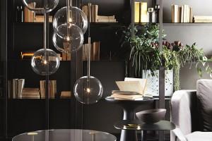 Z miłości do szkła - lampy Bolle od Gallotti & Radice