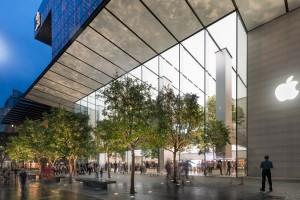 Apple postawił na... szklany dom
