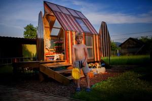 Rakieto-kredka... czyli jak pewien architekt spełnił marzenie swojego syna
