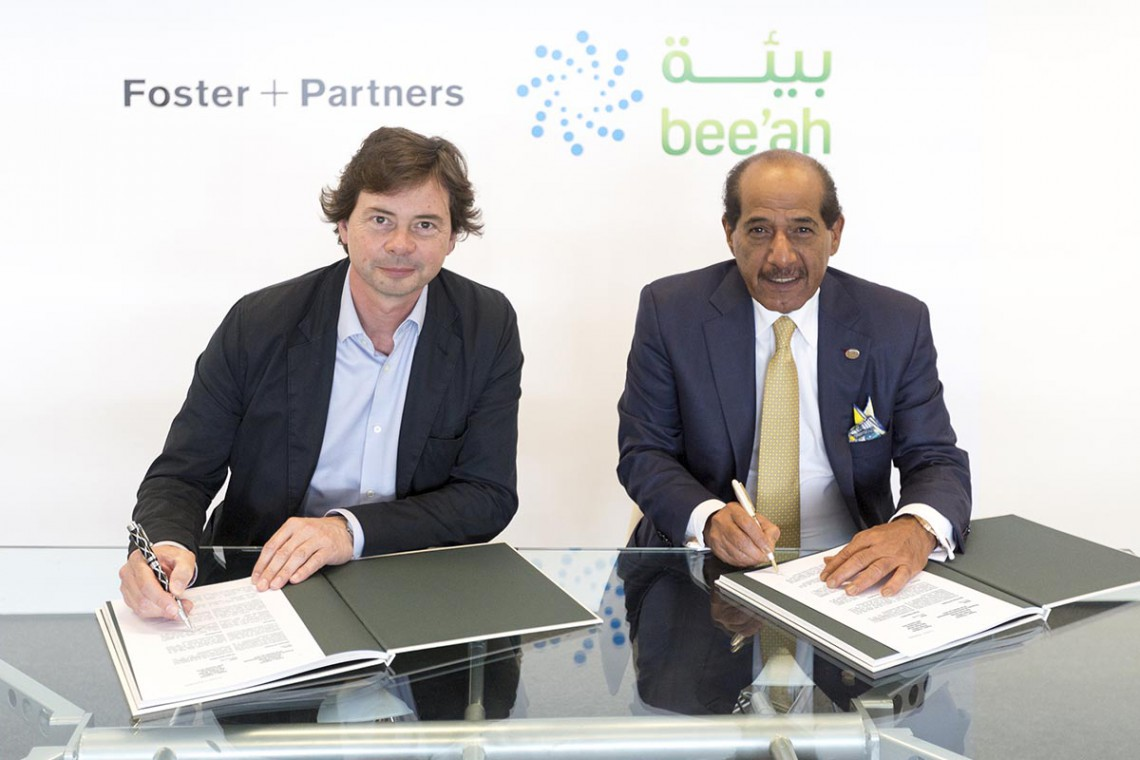 Foster and Partners tworzy projekt przyszłości