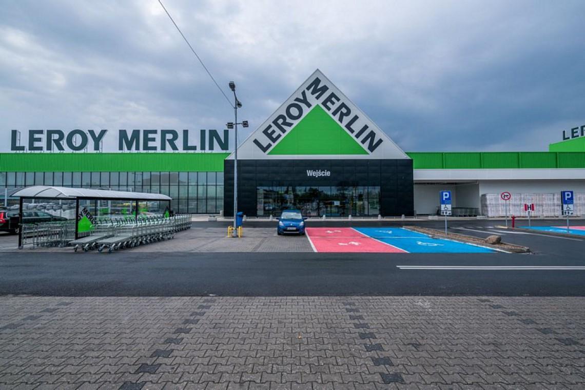 Leroy Merlin Wroclaw Krakowska Przed Wielkim Otwarciem Architektura