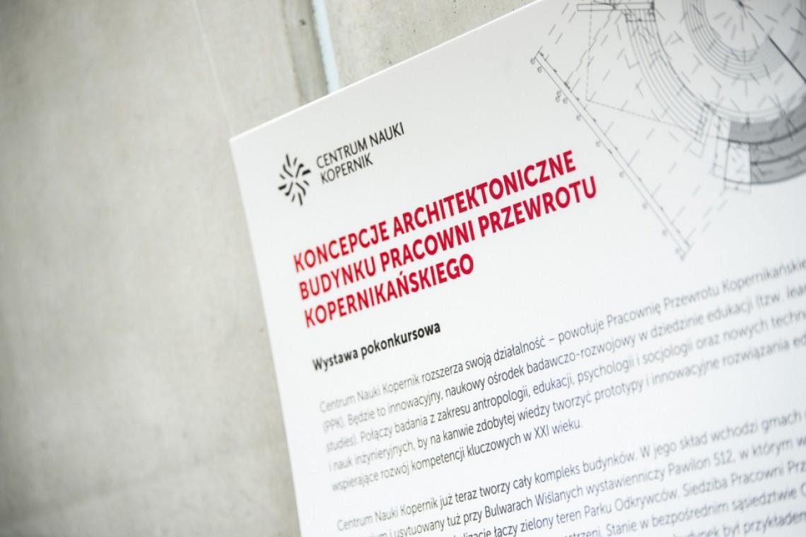 Pracownia z Wrocławia zaprojektuje nowy budynek Centrum Nauki Kopernik