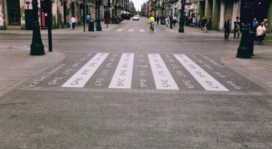 To polskie miasto znów zaskakuje. Artystyczne przejścia dla pieszych