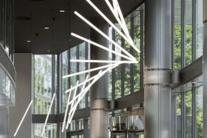Odmienione lobby w biurowcu Saski Crescent. Design zachwyca!