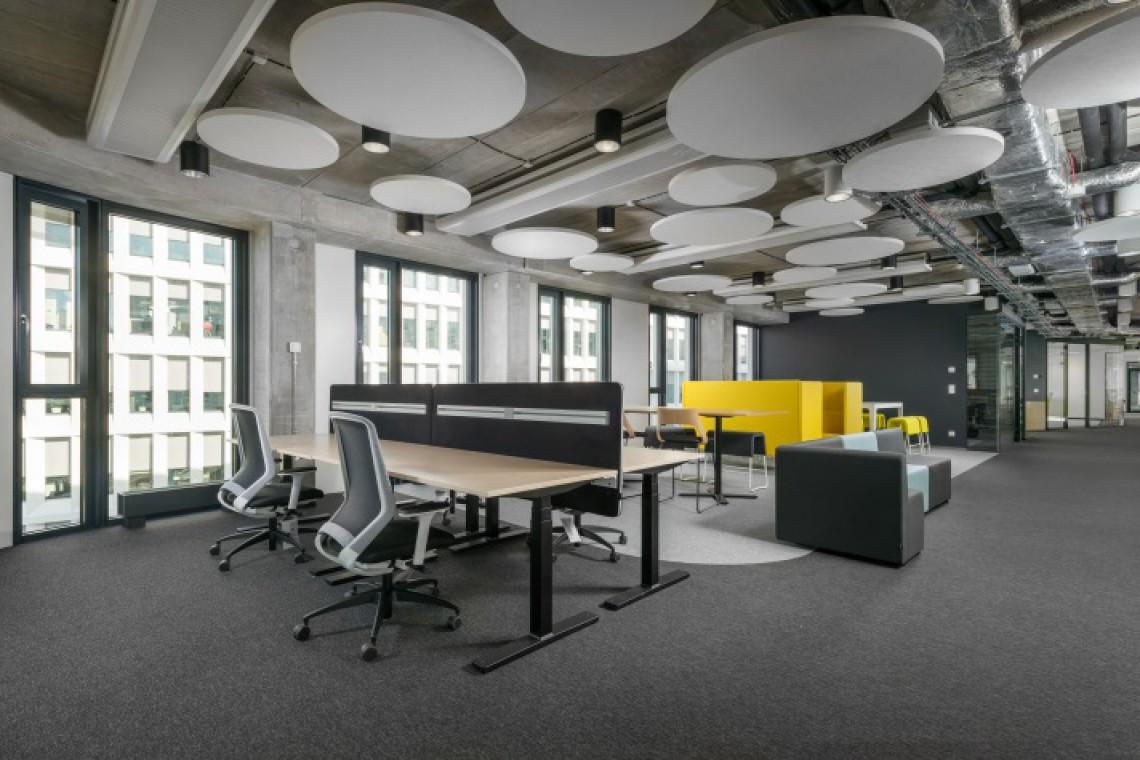 Biuro pokazowe w Business Garden. To projekt In Design