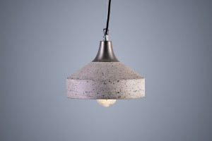Magia betonowego oświetlenia