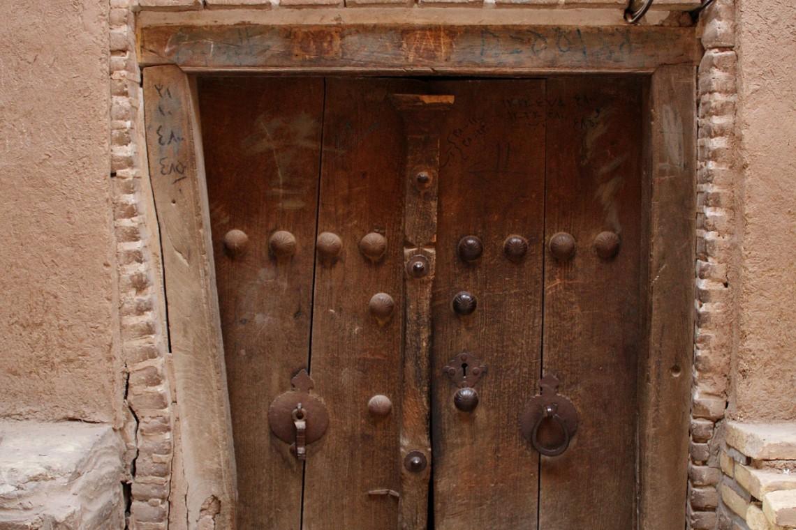 Miasto Jazd w Iranie - piękna architektura i budynki z gliny