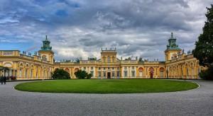 Trwają prace rekonstrukcyjne i konserwatorskie w Muzeum w Wilanowie