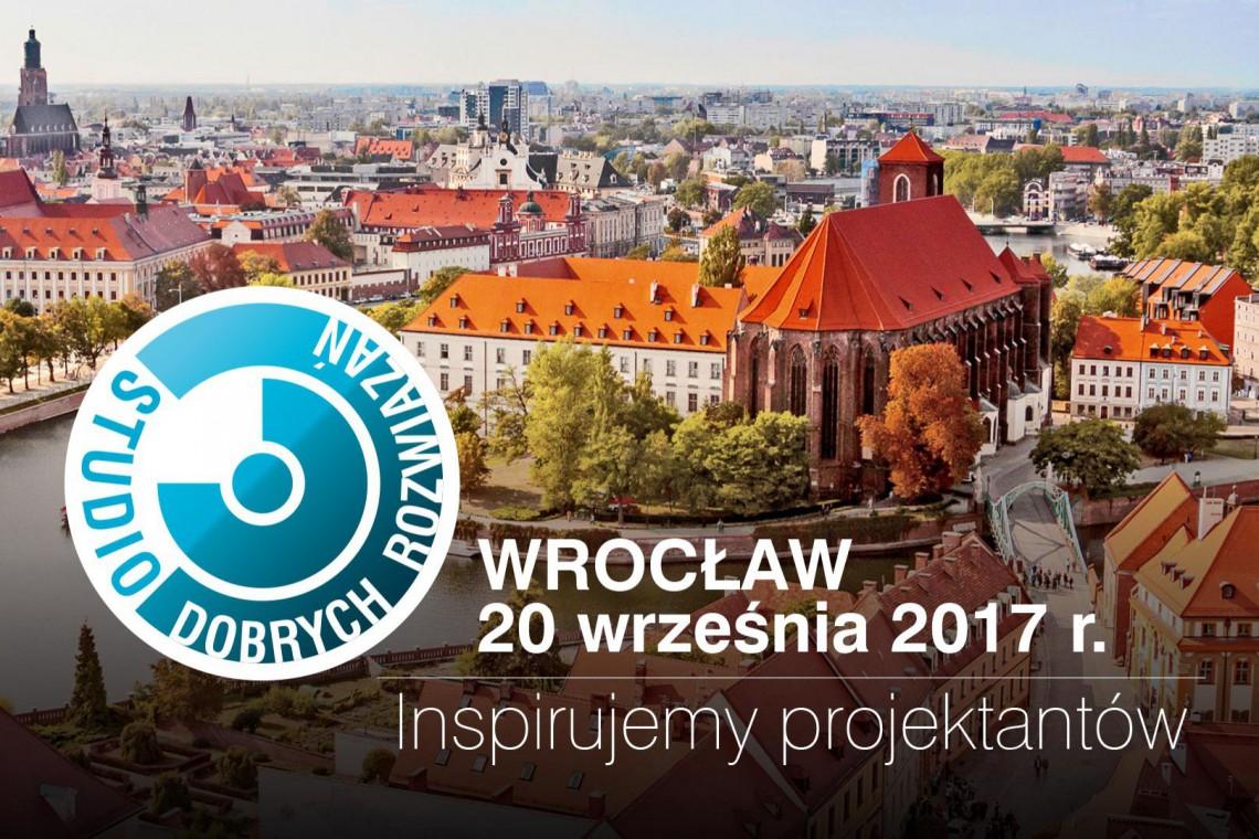 Studio Dobrych Rozwiązań pojawi się we Wrocławiu. Już 20 września!