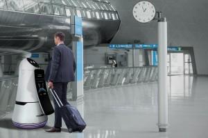 Roboty na lotnisku. Posprzątają i udzielą informacji podróżnym