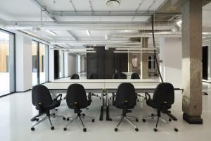 Zobacz, jak zmieniono stołówkę wojskową w nowoczesny biurowiec
