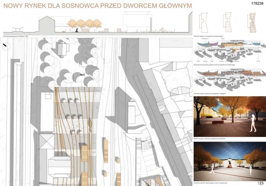 Wiemy, kto odmieni centrum Sosnowca. Rozstrzygnięto ważny konkurs