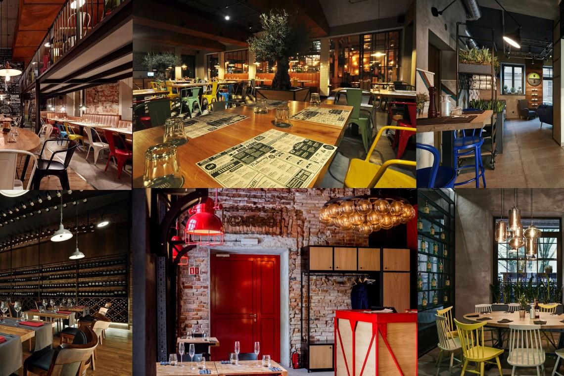 TOP 10: Restauracje inne niż wszystkie. Łączy je jedno! Dobry design i krakowski architekt