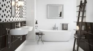 Najjaśniejsza, elegancko panująca - biel w aranżacji łazienki