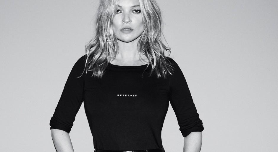 Kate Moss twarzą Reserved. Rusza pierwszy salon marki w Londynie
