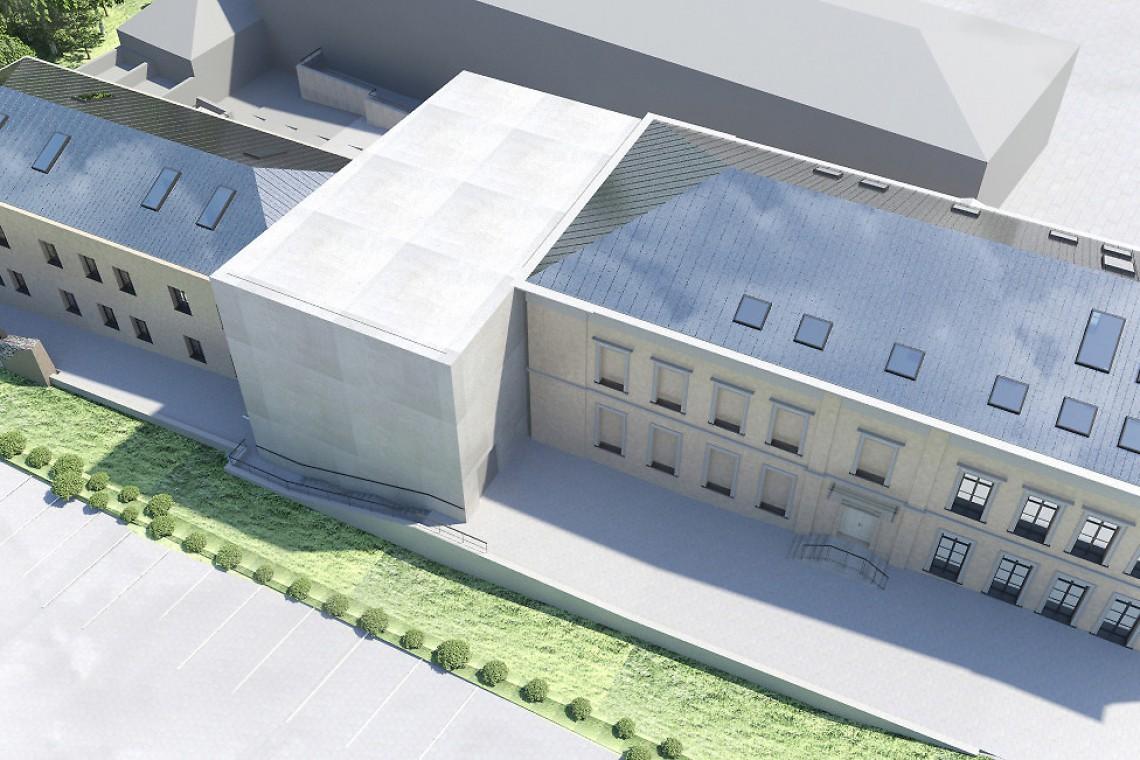 """Poznaliśmy koncepcję projektu nowej siedziby Teatru """"Kubuś"""" w Kielcach"""