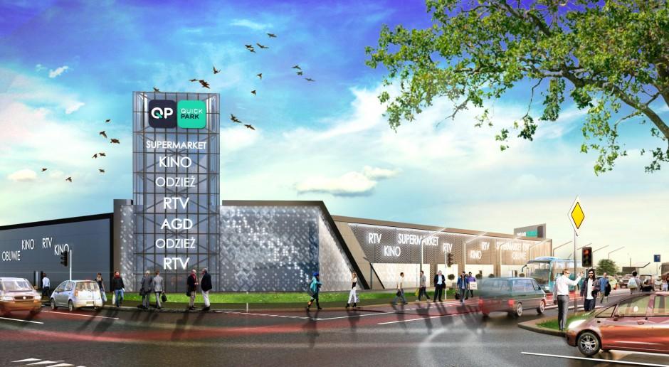 Centrum handlowe od Bernatek Architekci coraz bliżej otwarcia