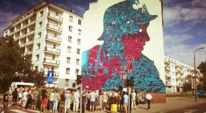 Nowy mural w Warszawie