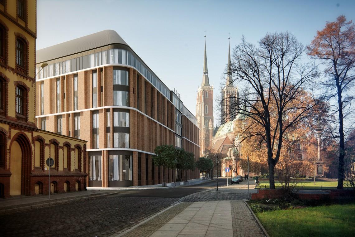 Takiego hotelu jeszcze nie było we Wrocławiu. Trwają zaawansowane prace