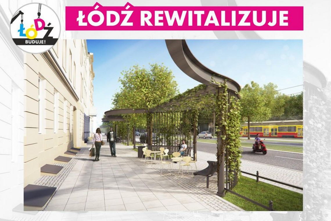 Łódź dba o estetykę przestrzeni miejskiej