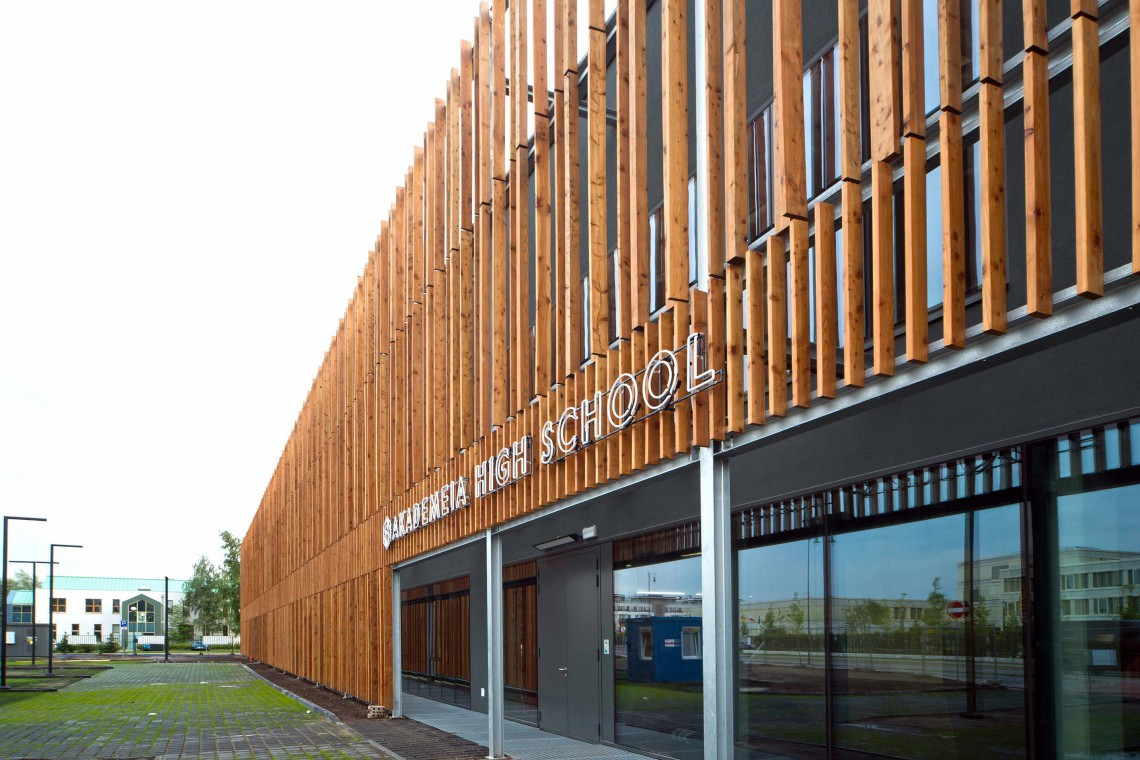 Wyjątkowa szkoła powstała w warszawskim Wilanowie