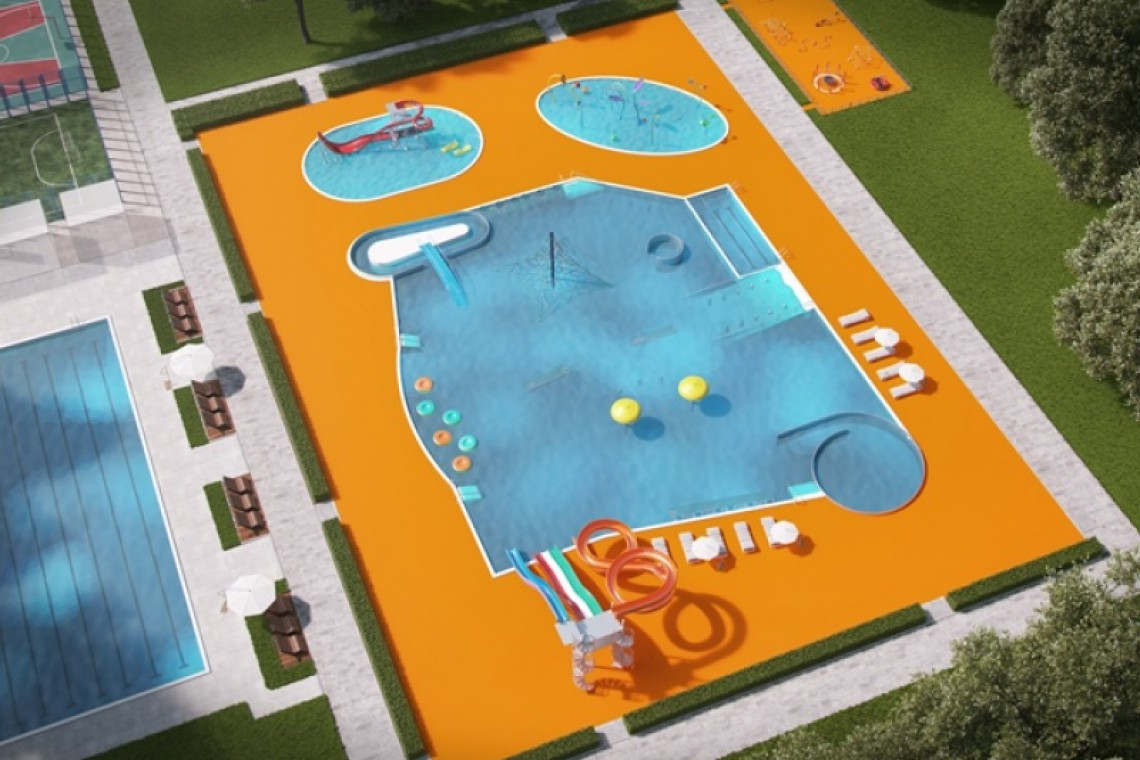 """Nowe baseny, zdjeżdżalnie i plaża. Jest zgoda na przebudowę ośrodka """"Moczydło"""""""