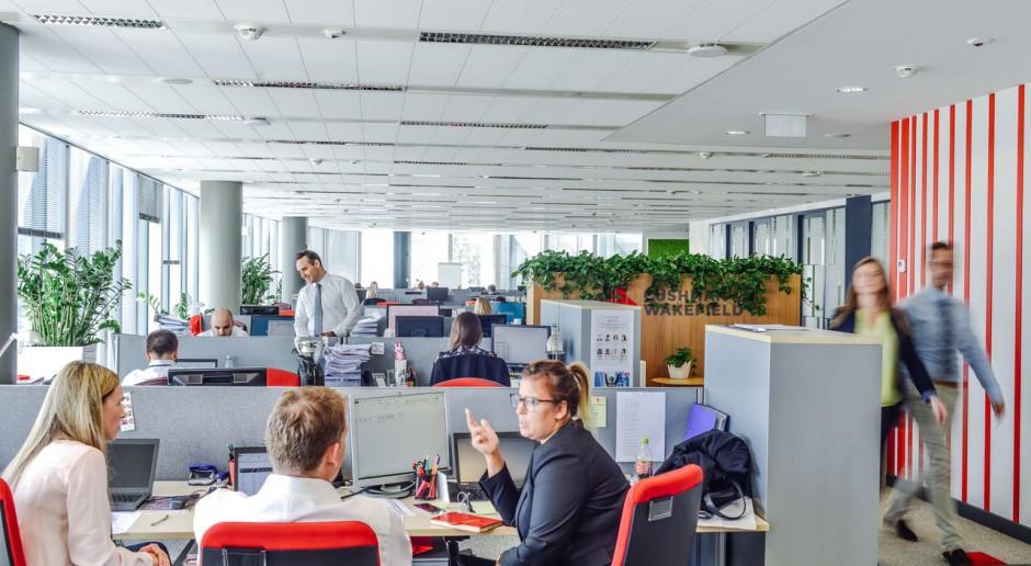 Nowe biuro Cushman & Wakefield to inspirująca przestrzeń do pracy