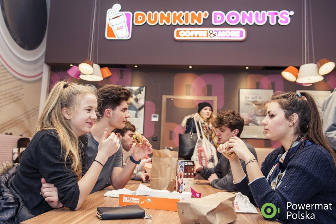 Dunkin' Donuts - kawiarnia nowoczesna w każdym calu