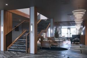 Hotel na Wyspie Spichrzów uchyla rąbka tajemnicy. Zobacz, jak będzie wyglądało wnętrze