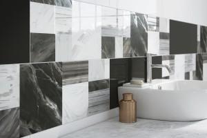 Czarno na białym - inspiracje do łazienki