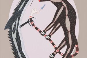 Kazumasa Nagai to klasyk japońskiego designu. Plakaty spod kreski projektanta zachwycają