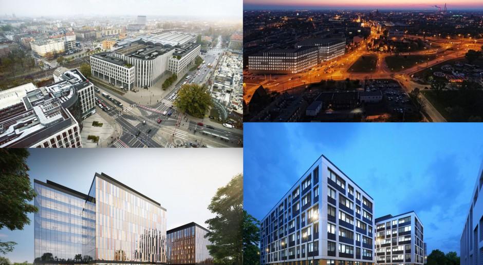 Oto cztery największe biurowce realizowane we Wrocławiu