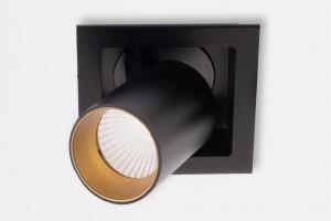 Surowe geometryczne kształty wyróżniają te lampy