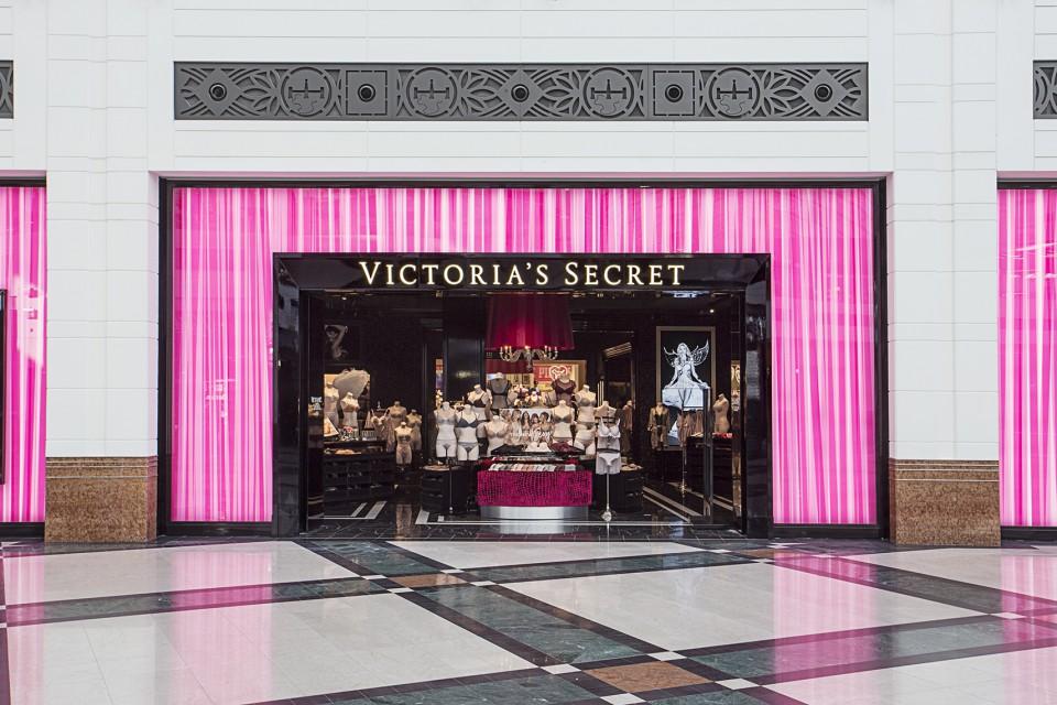 Tak wygląda flagowy salon Victoria's Secret. Jest wyrafinowany i glamour