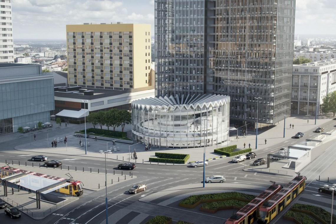 W Hucie Pokój powstaje stalowa konstrukcja nowej warszawskiej Rotundy