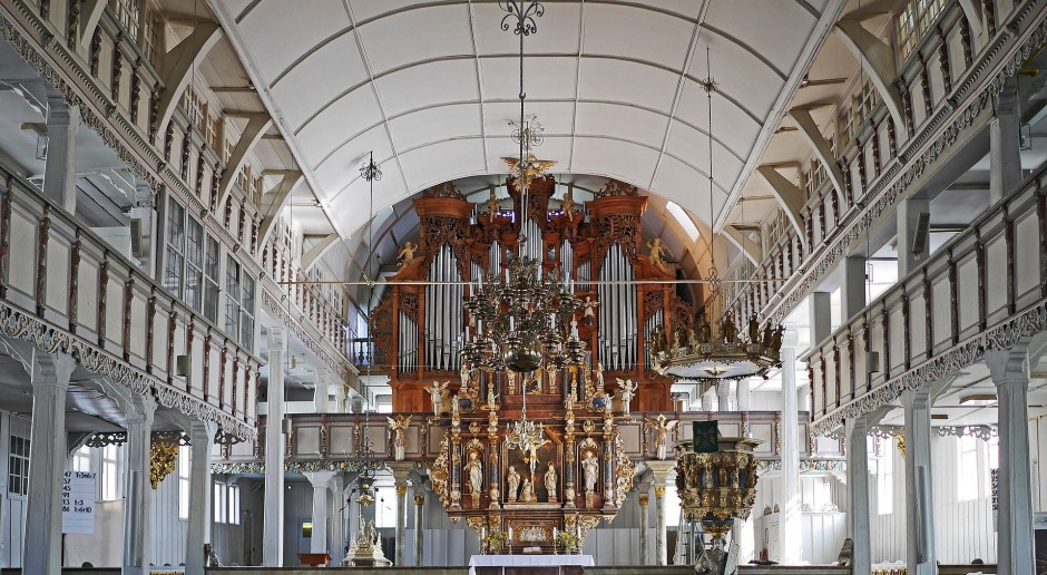 Otwarto kościół ewangelicki po rekonstrukcji