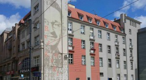 Miejska legenda obrócona w mural. Nowa odsłona bydgoskiego centrum
