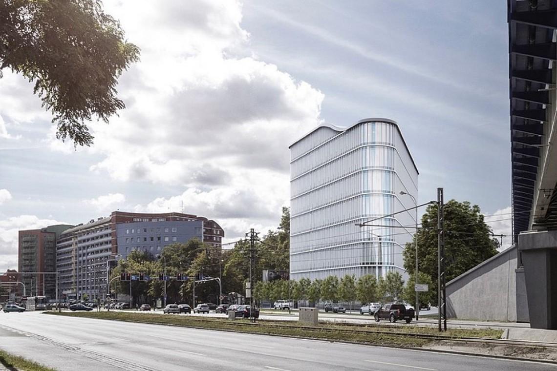 Na Starym Mieście powstaje futurystyczny biurowiec. To SQ Business Center Wrocław