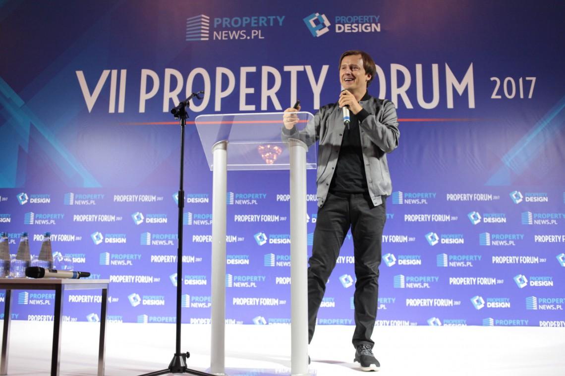 Oskar Zięta, Marriott, Mindspace i Tecno - inspirujące wystąpienia na Property Forum