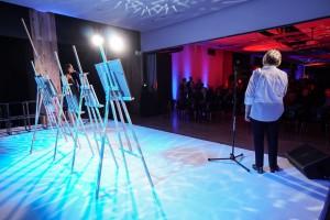 Licytacja dzieł Stefana Kuryłowicza za nami. Tak było na Gali Prime Property Prize 2017