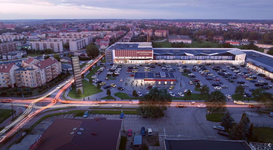 Nowe centrum handlowe w Kwidzynie. To projekt Mofo Architekci