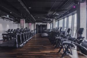 Fitness klub z widokiem na Wisłę
