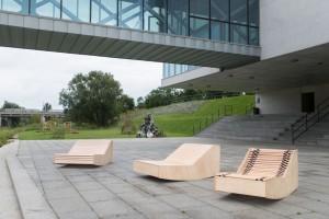 Zobacz niezwykłe meble miejskie dla Poznania