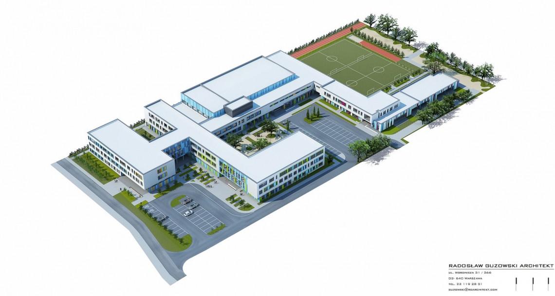 Nowoczesny kompleks sportowy w szkole podstawowej w Pruszkowie