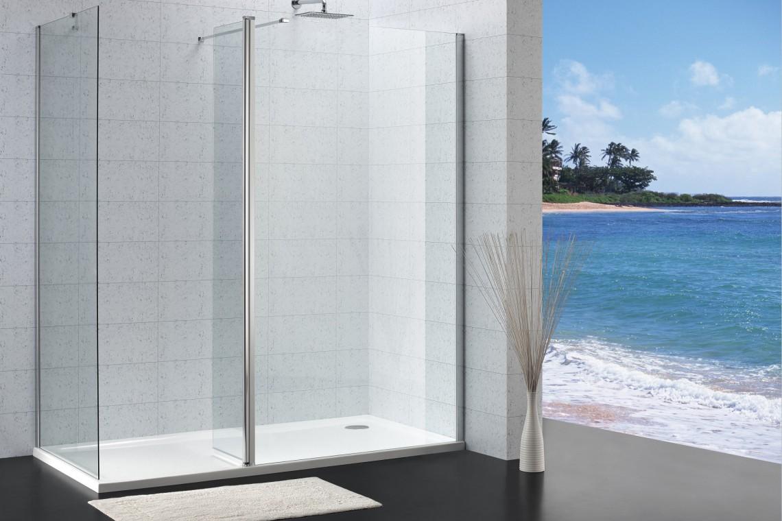 Swoboda aranżacji strefy prysznicowej