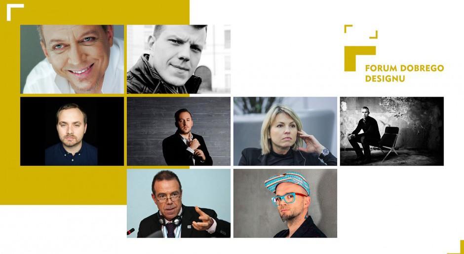 Oni będą z nami na Forum Dobrego Designu 2017