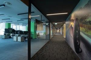 Tak wygląda najnowsze biuro IHS Markit. Jest nowocześnie i niebanalnie