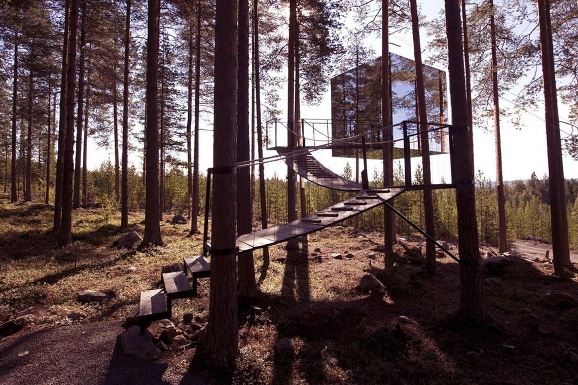 TOP: Ekologiczne hotele wtopione w naturę