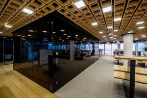 Kino w przerwie na kawę? To możliwe w nowym biurze CCC w Warszawie